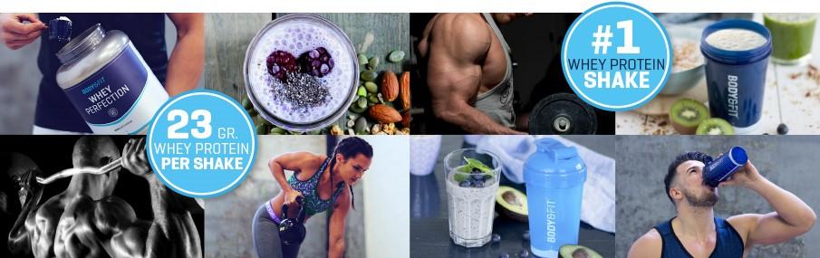 Body & Fit Whey Perfection - protein snejvyšším zákaznickým skóre vEU