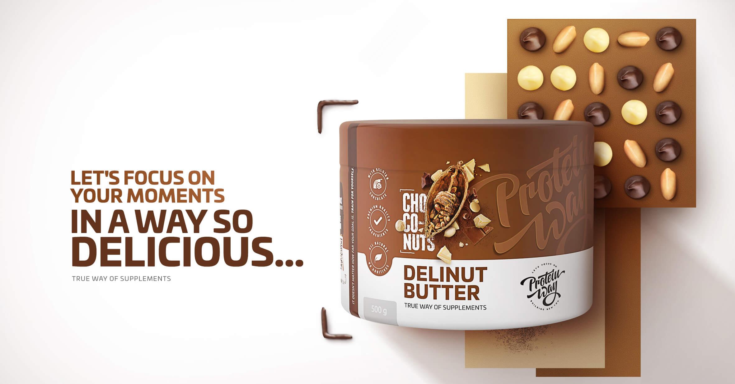 Protein Way  | DeliNut butter | Nejlepší máslo